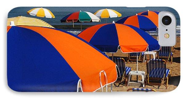 Umbrellas Of Crete Phone Case by Bob Christopher