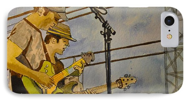 Umphreys Mcgee At The Stone Pony  IPhone Case by Patricia Arroyo