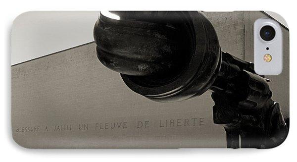 Un Fleuve De Liberte IPhone Case