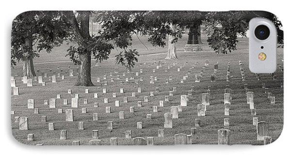 Under Shiloh Oaks Phone Case by David Bearden