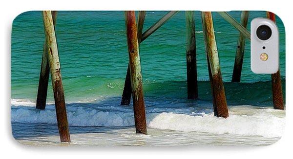 Under The Boardwalk Phone Case by Judi Bagwell
