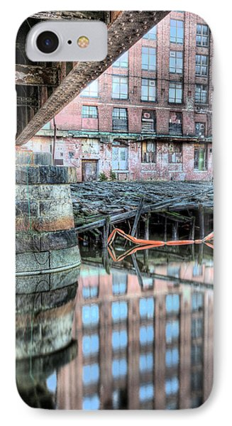 Under The Bridge  IPhone Case by JC Findley