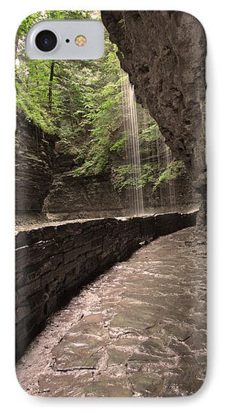 Under The Falls IPhone Case by Cindy Haggerty