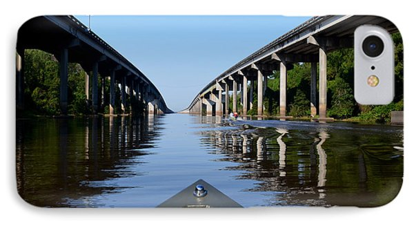 Under The Interstate IPhone Case by Maggy Marsh