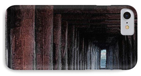 Under The Pier 2 Phone Case by Ernie Echols