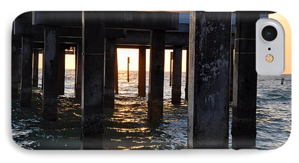Under The Pier Phone Case by Bill Cannon