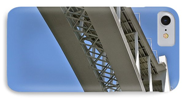 IPhone Case featuring the photograph Underside Of Beautiful Bridge by Kirsten Giving