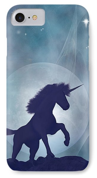 Unicorn IPhone Case by Carol and Mike Werner
