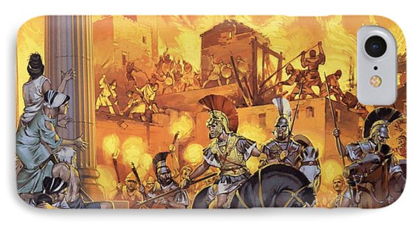Unidentified Roman Attack Phone Case by Angus McBride