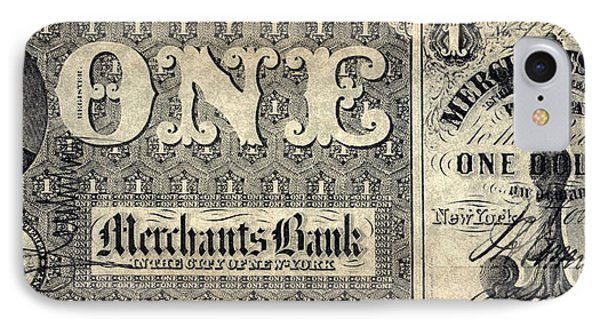 Union Banknote, 1862 Phone Case by Granger