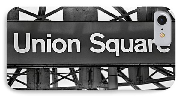 Union Square  Phone Case by Susan Candelario