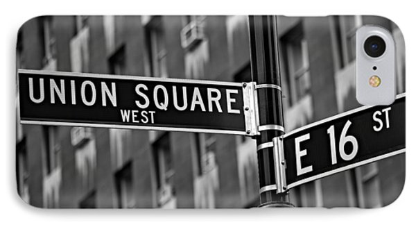 Union Square West Phone Case by Susan Candelario