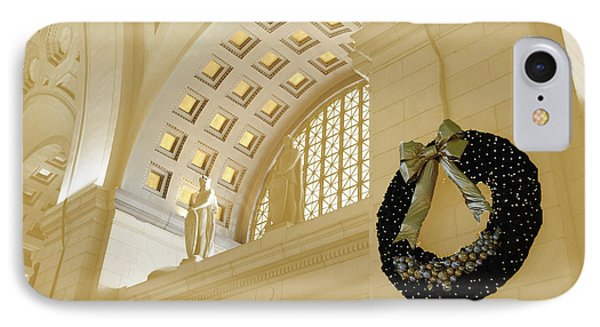 Union Station Holiday Phone Case by Jost Houk