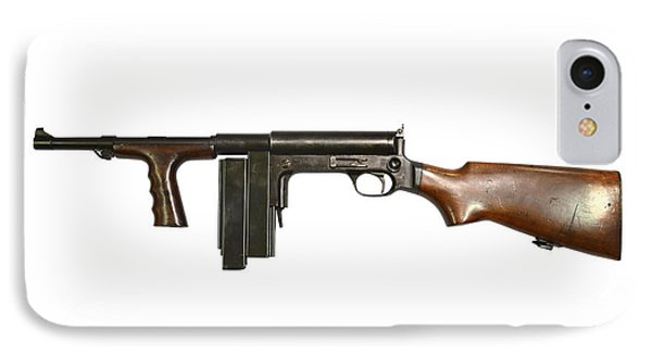 United Defense M42 Submachine Gun Phone Case by Andrew Chittock