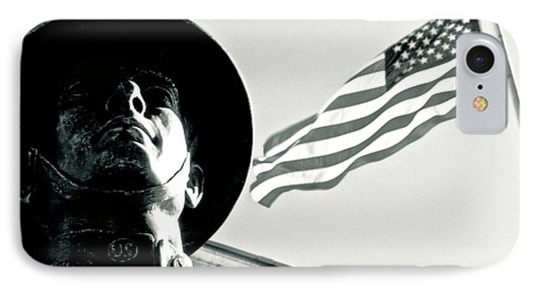 United We Stand Theme Phone Case by Syed Aqueel