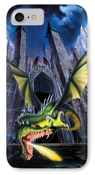 Unleashed IPhone Case by The Dragon Chronicles