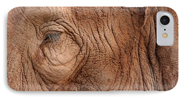 Up Close And Personal IPhone Case by Mary Mikawoz
