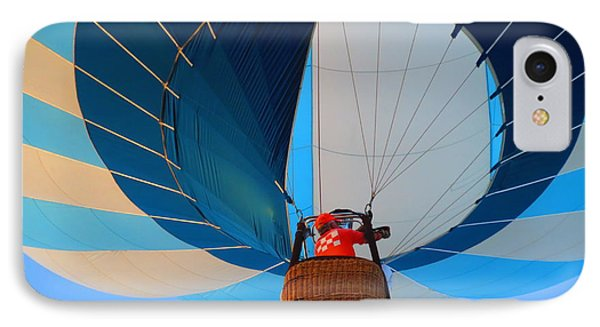 IPhone Case featuring the photograph Up Into The Blue. Oshkosh 2012. by Ausra Huntington nee Paulauskaite