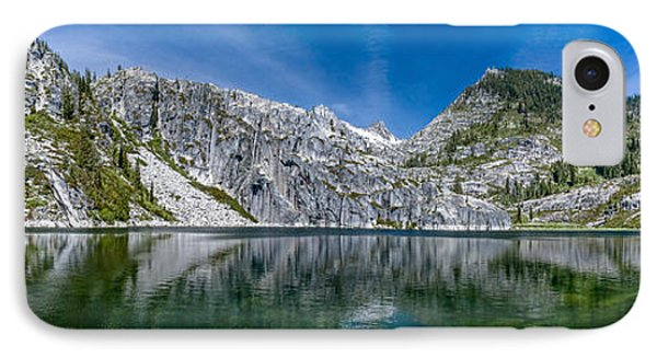 Upper Canyon Creek Lake Panorama IPhone Case by Greg Nyquist
