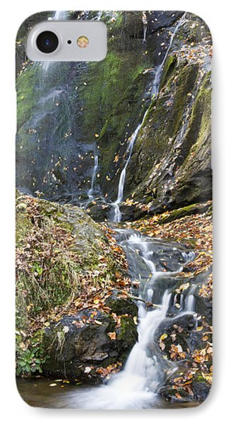 Upper Dark Hollow Falls In Shenandoah National Park Phone Case by Pierre Leclerc Photography