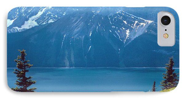 IPhone Case featuring the photograph Upper Kananaskis Lake by Jim Sauchyn