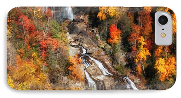 IPhone Case featuring the photograph Upper Whitewater Falls by Lynne Jenkins