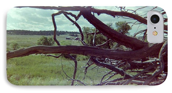 IPhone Case featuring the photograph Uprooted by Bonfire Photography