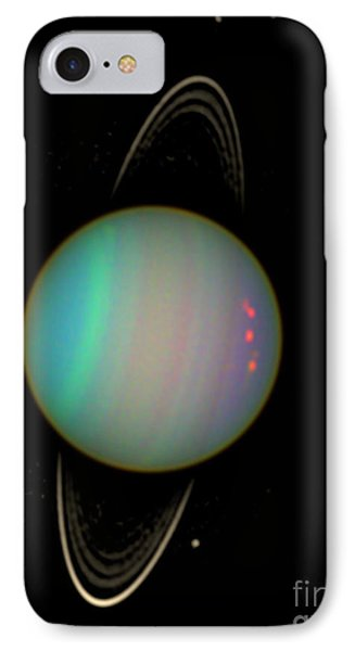 Uranus With Moons IPhone Case by Nasa