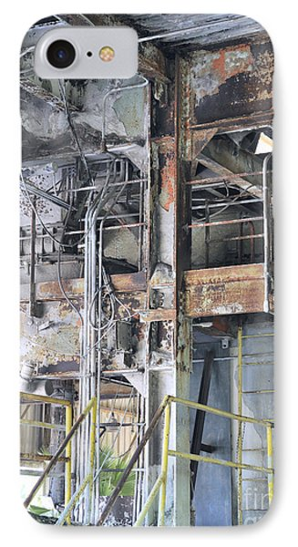 Urban Industrial Decay 2 IPhone Case