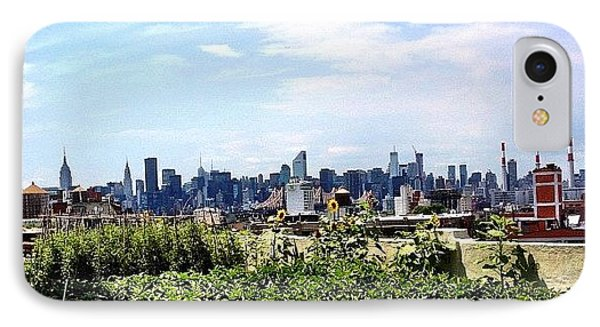 Urban Nature - New York City IPhone Case by Vivienne Gucwa
