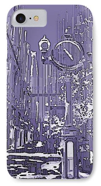 Urban Timepiece Phone Case by Tim Allen