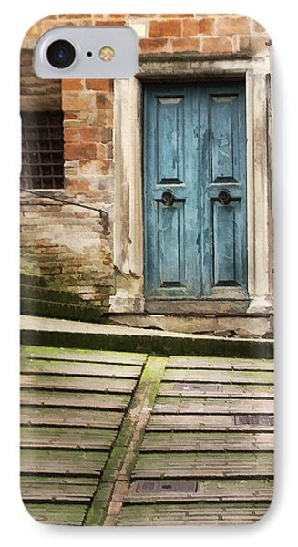 Urbino Door And Stairs Phone Case by Sharon Foster