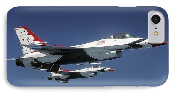 U.s. Air Force F-16 Thunderbirds Phone Case by Stocktrek Images