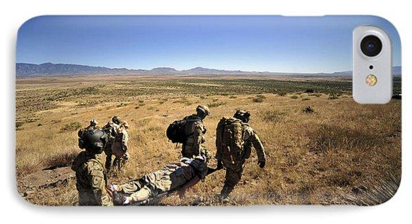 U.s. Air Force Pararescuemen Carry Phone Case by Stocktrek Images