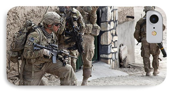 U.s. Army Battalion Pulls Security Phone Case by Stocktrek Images