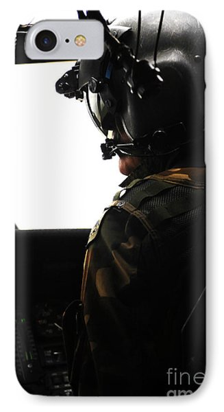 U.s. Army Officer Speaks To A Pilot Phone Case by Stocktrek Images