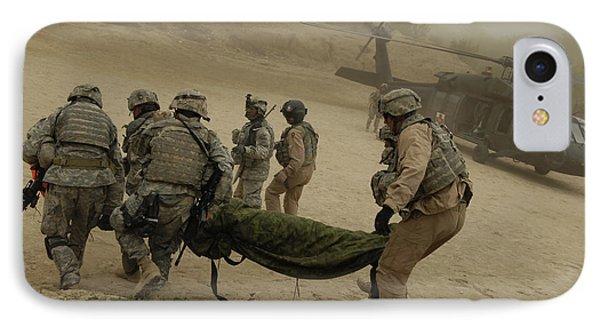 U.s. Army Soldiers Medically Evacuate Phone Case by Stocktrek Images