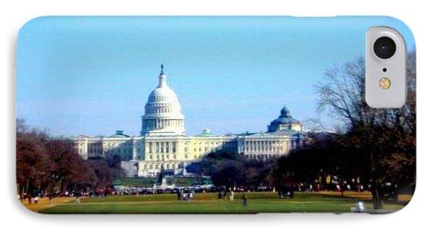 IPhone Case featuring the photograph U.s. Capitol Building by Danielle  Parent