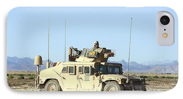 U.s. Marine Standing Ready Phone Case by Stocktrek Images