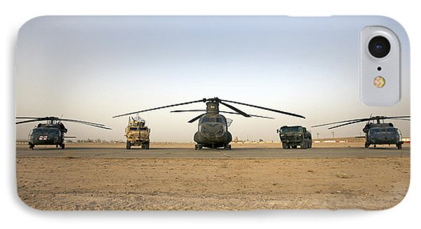 U.s. Military Vehicles And Aircraft IPhone Case