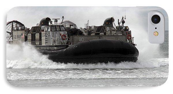 U.s. Navy Landing Craft Air Cushion Phone Case by Stocktrek Images