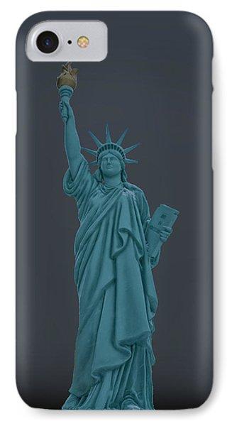 Usa Statue Of Liberty IPhone Case by LeeAnn McLaneGoetz McLaneGoetzStudioLLCcom
