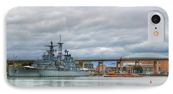 IPhone Case featuring the photograph Uss Little Rock by Michael Frank Jr