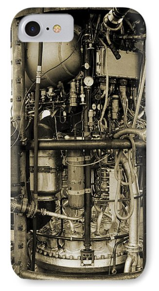 V-2 Rocket Engine Phone Case by Detlev Van Ravenswaay