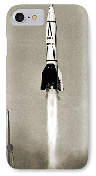 V-2 Rocket Launch In Usa Phone Case by Detlev Van Ravenswaay