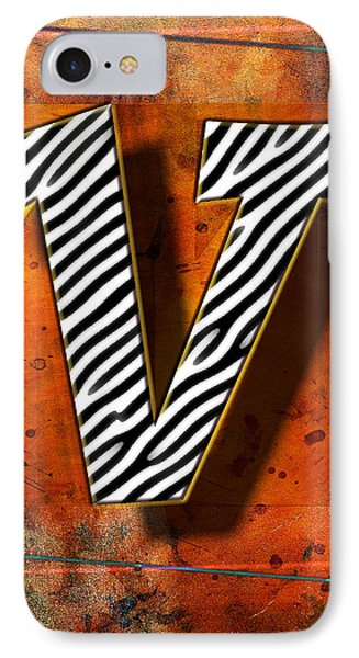 V IPhone Case by Mauro Celotti