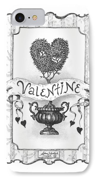 Valentine Phone Case by Adam Zebediah Joseph