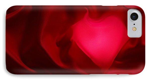 Valentine Heart Phone Case by Tony Cordoza