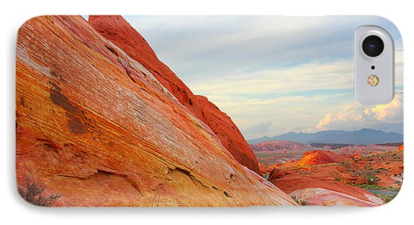 Valley Of Fire - A Pristine Beauty Phone Case by Christine Till