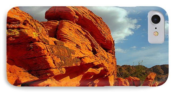 Valley Of Fire - Born To Be Wild Phone Case by Christine Till